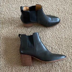 Madewell Regan Boot leather